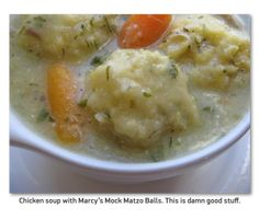 she's in the kitchen: chicken-vegetable soup with cornmeal dumplings Dumplings For Soup, Cornmeal Dumplings, Dumpling Recipe, Chicken And Dumplings, Ritz Cracker Chicken, Primal Blueprint Recipes, Matzo Meal, Caramelized Bacon, Vegetable Soup With Chicken