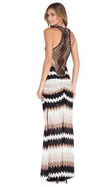 sky Niabi Maxi Dress in Tan