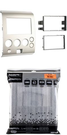Dashboard Installation Kits 85806: Metra 95-7406 Double Din Dash Kit For Select 2004-2007 Nissan Pathfinder Titan -> BUY IT NOW ONLY: $29.89 on eBay!