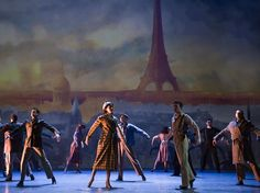 Director-choreographer Christopher Wheeldon re-imagines the iconic composition 'An American in Paris' for Broadway, and returns to the city that never fails to inspire. Theatre Geek, Musical Theatre, An American In Paris, New Paris, Paris Shows, Show Photos, City Lights, In This World, New York City