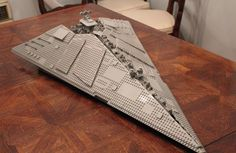 Pellaeon-Class Star Destroyer by Outworlder on Eurobricks
