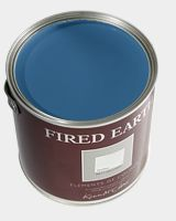 Fired Earth paint in Woad Blue
