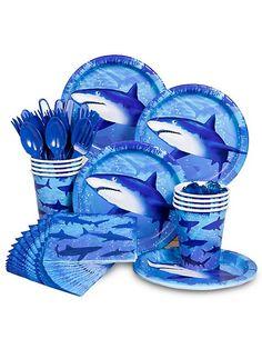 Shark Party Standard Kit -Shark Party Supplies