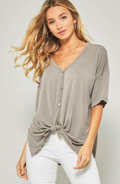 bbd5ce2c07 Coco Button-Down Top. CardigansCollectionsShort ...