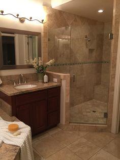 Master bath room shower