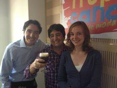 Amor Perfecto, el Irish Coffee (preparado por Nicolas nuestro barista, #11 a nivel mundial de preparación de café con licores!