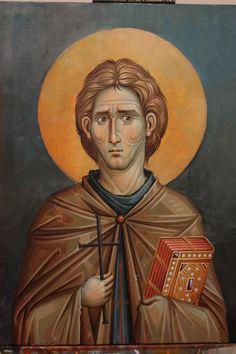 Byzantine Art, Orthodox Icons, Fresco, Saints, Christian, Mai, Painting, Amazing, Byzantine Icons