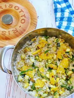 This recipe is summer on a plate, it combines the classic creamy risotto with all the summertime flavors of garden fresh grilled corn and zucchini stirred right into it, and of course some fresh basil to enhance it all. It's really very simple to make especially when grilling veggies is at it's peak this time …
