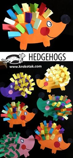 Kids Crafts diy paper crafts for kids Kids Crafts, Space Crafts For Kids, Animal Crafts For Kids, Fall Crafts For Kids, Toddler Crafts, Art For Kids, Kids Diy, Paper Craft For Kids, Autumn Art Ideas For Kids