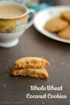 Whole Wheat Coconut Cookies is one such recipe, delicious and melt in mouth flavorful cookies using whole wheat flour without eggs and less sugar when compared to other cookies. I bookmarked this recipe from Hari Eggless Cookie Recipes, Eggless Baking, Easy Baking Recipes, Baby Food Recipes, Sweet Recipes, Snack Recipes, Baking Hacks, Cupcake Recipes, Bread Recipes