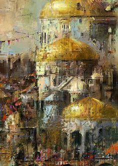 "Projet""Prawda"" 2015. Digital paint. Oil Portrait, Brush Strokes, My Arts, Painting, Image, Collagen, Affair, City, Paintings"