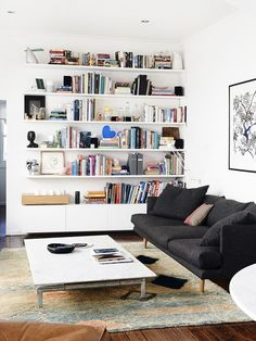 Lucy Feagins' living room in Melbourne, Australia