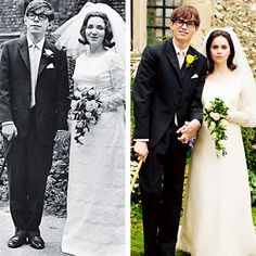 The Hawkings - Article about the movie 'Theory of Everything' here: http://www.dailymail.co.uk/tvshowbiz/article-2650016/BAZ-BAMIGBOYE-The-love-story-helped-Hawking-reach-stars.html?ITO=1490&ns_mchannel=rss&ns_campaign=1490