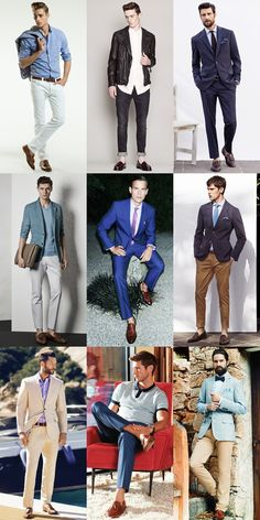 Key Footwear Styles For Spring/Summer 2014: The Leather Tasselled Loafer Lookbook Inspiration