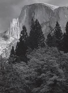Half Dome, Storm Light - Yosemite National Park (1948)
