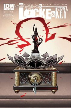 Locke & Key: Keys To the Kingdom #5 (of 6) Illusions will be smashed and good people will be destroyed in a shattering two-part story that changes everything. Tyler Locke begins, finally, to consider what he knows about the terrifying but mysterious enemy that has harrowed the Locke family for months-only to find that all the evidence points to a single suspect: Zack Wells.