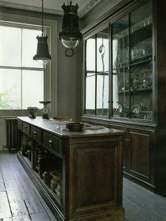 Cozinha antiga Fotógrafo: David Woolley Fonte: Elle Decoration UK Janeiro 2014