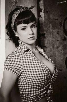 #Rockabella in black and white.