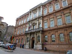 Palazzo Gallenga, my old University!