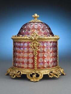 Glass Baccarat Antiques...