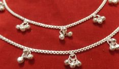 From thick announcement music groups to effectively straitlaced strings and only to double designs, females' anklets can be found in many types. Gothic Jewelry, Indian Jewelry, Boho Jewelry, Jewellery, Ankle Jewelry, Silver Jewelry, Gold Anklet, Silver Anklets, Women's Anklets