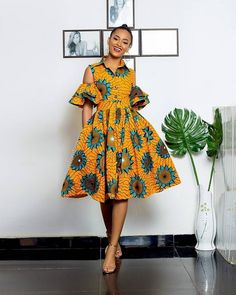 Short African Dresses, Short Gowns, Latest African Fashion Dresses, African Print Fashion, African Clothes, African Prints, Nigerian Fashion, Ankara Fashion, African Lace