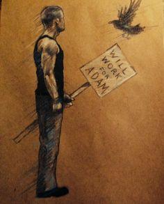 Ronan - Maggie Stiefvater Art; The Raven Boys; The Dream Thieves