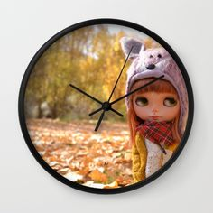 Blythe doll Nature #2 Wall Clock