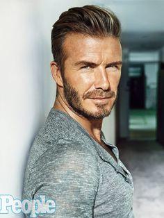 "~ † David Beckham † Peoples Magazine""s Sexiest Man 2015 ~ - Flatpins. David Beckham Family, David Beckham Photos, David Beckham Style, Cabelo David Beckham, David Beckham Haircut, David Beckham Beard, Hair Men Style, Hair And Beard Styles, Victoria And David"