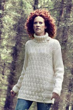 Womans Patterned Pullover Novita 7 Veljestä (7 Brothers) | Novitaknits