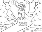 psalm 119 105 coloring pages - photo#8