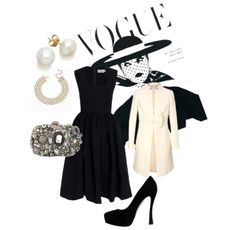 Its All There In Black And White... #Fashion