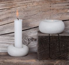 .ab concrete design : Photo Concrete Design, Pillar Candles, Candle Holders, Abs, Create, Crafts, Candlesticks, Crunches, Abdominal Muscles