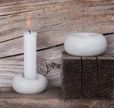 .ab concrete design : Photo Concrete Design, Pillar Candles, Tea Lights, Candle Holders, Abs, Manualidades, Crunches, Tea Light Candles, Porta Velas