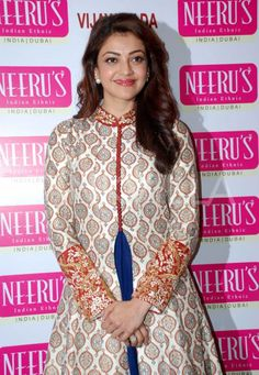 Kajal Aggarwal attends a fashion store launch!