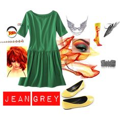 """""""Jean Grey"""" by sarahharman01 on Polyvore"""