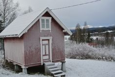 Stabburet i februar - the storehouse in February