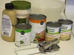 Garbanzo Bean Salad Recipe #CansGetYouCookingwin a $25 American Express gift card, a Cans Get You Cooking tote bag, a Cans Get You Cooking apron and a can opener.