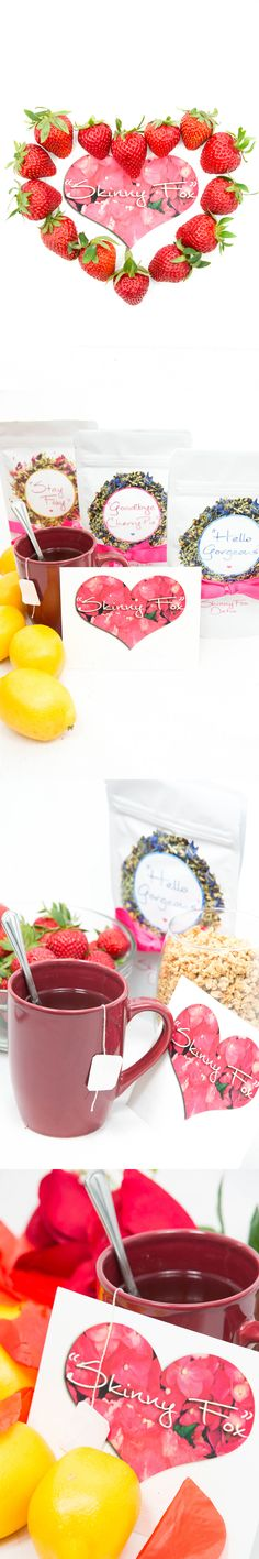 SkinnyFox Detox consists of the most powerful natural teas and herbs!