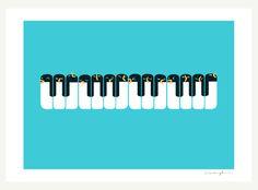 The Choir of Antarctica - Print
