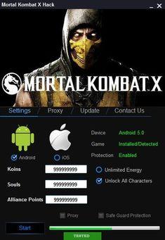 Mortal Kombat X Hack Online. Mortal Kombat X Hack descargar Mortal Kombat X Characters, Mortal Kombat Xl Ps4, Reptile Mortal Kombat, Mortal Kombat Games, Ios, Point Hacks, Play Hacks, Mortal Combat, Gaming Tips
