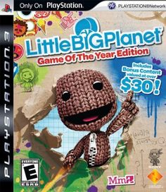 LittleBigPlanet - Game of the Year Edition Playstation 3 by Sony Computer Entertainment, http://www.amazon.com/dp/B002ELCUUG/ref=cm_sw_r_pi_dp_0b3Trb06JT4V1