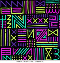 stock-vector-vector-seamless-pattern-with-abstract-lines-geometric-art-print-fashion-s-s-memphis-style-391454107.jpg (450×470)