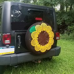 Spiral Pineapple Crochet Spare Tire Cover by WhyNotCrafts ...
