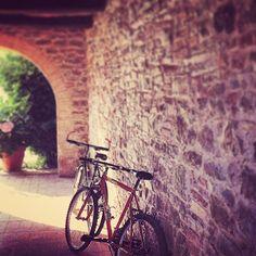L'abici. Del benessere. #bike #altrasimeno #nature #travel #architecture #viaggi #umbria foto di @egyzia