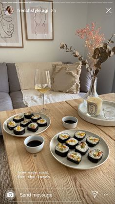 How To Make Sushi, Homemade Sushi, Food Goals, Lunch, Food Inspiration, Love Food, Food Porn, Food And Drink, Healthy Recipes