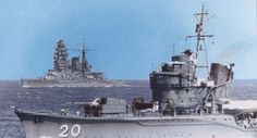Japan destroyer and IJN Nagato, oct. 1941 M