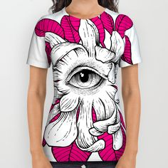 ThirdEye All Over Print Shirt by fb.com/ToniEfer