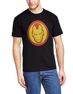 Marvel BILAA00067-BLACK - Camiseta de manga corta para hombre, color schwarz/schwarz, talla XX-Large #camiseta #friki #moda #regalo