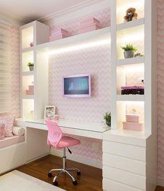 Fofo demais esse quarto de menina por Monise Rosa . . . Acompanhem nossos projetos no @depaulaenobrega
